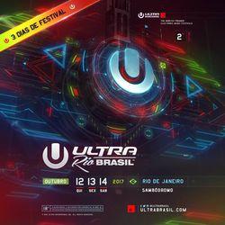 Steve Angello LIVE @ Ultra Music Festival Brazil 2017