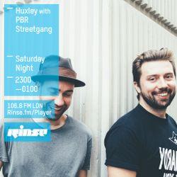 Rinse FM Show - Huxley w/ PBR Streetgang - 18th July 2015