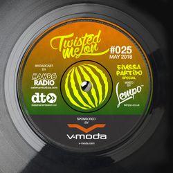 025 Twisted Melon // MAY 2018 // Cafe Mambo // Data Transmission