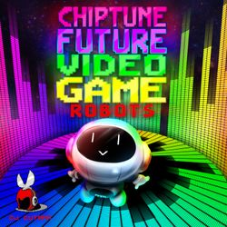 Chiptune Future Video Game Robots