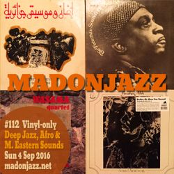 MADONJAZZ #112 - Deep Jazz, Afro & Middle Eastern Sounds
