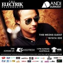 Electrik Playground 18/10/14 - EDX