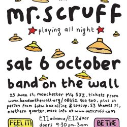 Mr Scruff live DJ mix from Keep It Unreal, Band On The Wall, Saturday October 6th 2012