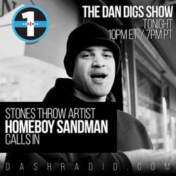 Show 012 - Special Guest: Homeboy Sandman - New Ghostpoet, BBNG, Shabazz Palaces - 1.11.15