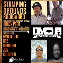 Aaron Paar w/guest Umoja Soundsystem – Stomping Grounds (03.12.18)