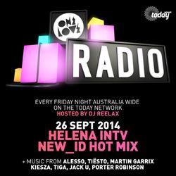 ONELOVE RADIO 26 SEP - HELENA INTV & NEW_ID HOT MIX