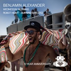 Benjamin Alexander on Robot Heart Burning Man 2012
