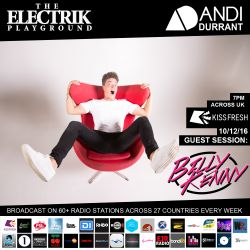 Electrik Playground 10/12/16 inc Billy Kenny Guest Session