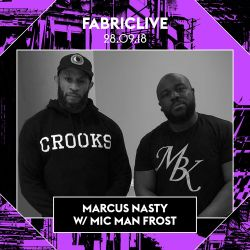 Marcus Nasty w/ Mic Man Frost FABRICLIVE x 3000 Bass Promo Mix
