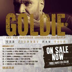 Goldie (Metalheadz, Cooking Vinyl Group) @ Ibiza Voice Podcast Episode #523 (17.07.2017)