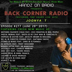 BACK CORNER RADIO: Episode #277 (June 29th 2017)