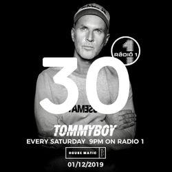 Tommyboy Housematic on Radio1 ( 2019-01-09 ) R1HM30