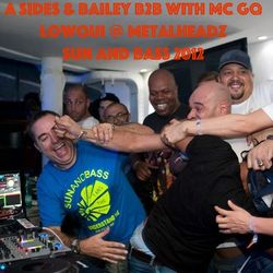 A Sides & Bailey B2B with MC GQ, DRS & Lowqui @ Metalheadz, Sun And Bass - Sep 2012