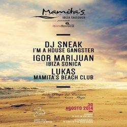 DJ LUKAS - MAMITAS TAKEOVER @ SANDS IBIZA - AGOSTO 2014