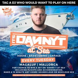 Danny T at Sea, Magaluf DJ Competition (DJ Breathless)