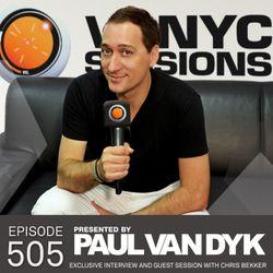 Paul van Dyk's VONYC Sessions 505 – Chris Bekker Exclusive 'Berlinition' Album Preview & Interview