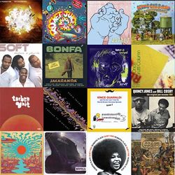 What's playing at the Dust & Grooves HQ - March 2018