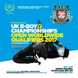 Locking Gold - UK B-Boy Championships 2017 Official Mixtape by DJ Rob Manga