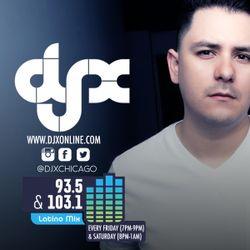 DJ-X Latino Mix Radio Episode 1