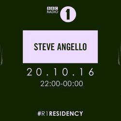 BBC Radio 1's Residency Steve Angello 21 October 2016