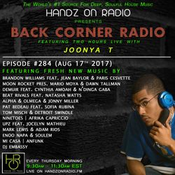 BACK CORNER RADIO: Episode #284 (Aug 17th 2017)