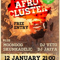 Live@Moon Club 12/01/13 (Afrocluster Support Set pt.1+2)