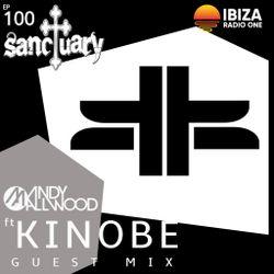 Sanctuary Show 100 with Guest Mix by Kinobe ~ Ibiza Radio 1 ~ 24/03/19