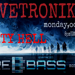 """OLIVETRONIK  """"PARTY HELL"""" on MORE BASS monday,october17"""
