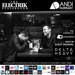 Electrik Playground 16/7/16 inc. Delta Heavy Guest Session