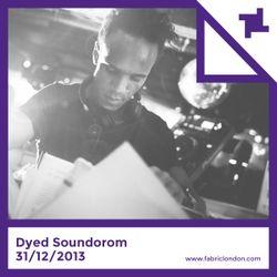 Dyed Soundorom fabric NYE 2013 Promo Mix
