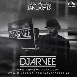 #MixMondays JANUARY 2015 @DJARVEE