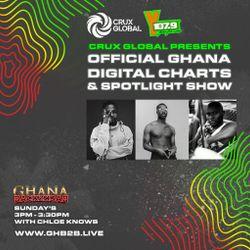 GHB2B Ghana Digital Charts & Spotlight Show W/ @Y1079fm & @CruxGlobal 24th May 20