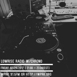 LowRise Radio w/Chrono 02/24/2017