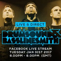 Drumsound & Bassline Smith - Live & Direct #23 [31-01-17]