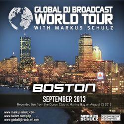 Global DJ Broadcast Sep 05 2013 - World Tour: Boston