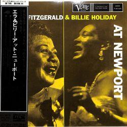 Ella Fitzgerald & Billie Holiday – At Newport  1975  Japan (US 1958)