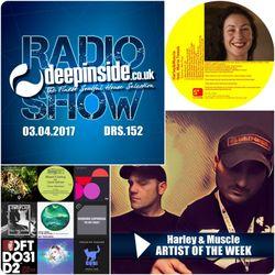 DEEPINSIDE RADIO SHOW 152 (Harley & Muscle Artist of the week)