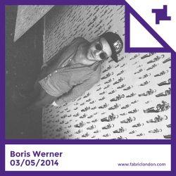 Boris Werner - fabric Promo Mix