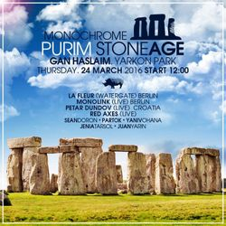 Petar Dundov -Live- (Music Man Records) @ Purim Stoneage, The Rocks Garden - Tel Aviv (24.03.2016)