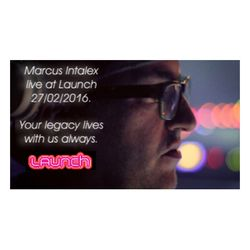 Marcus Intalex Live at Launch 27/02/2016