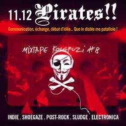 Mixtape KONGFUZI #8: PIRATES!!