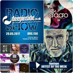 DEEPINSIDE RADIO SHOW 156 (Opolopo Artist of the week)