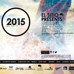 VALENTIN HUEDO (NIGHT SET) - NEW YEAR´S FESTIVAL - EL SITIO DE PLAYA VENAO - 1 / 1 / 2015