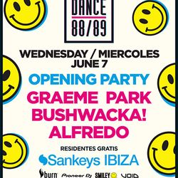 This Is Graeme Park: Dance 88/89 Opening Party  @ Sankeys Ibiza 07JUN17 Live DJ Set