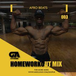 Gym Attack 'Afrobeats' Home Workout Mix 003 (@DJOPUK)