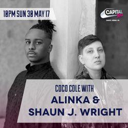 Coco Cole w/ Alinka & Shaun. J Wright