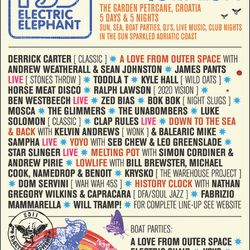 Dom Servini (Wah Wah 45s) Exclusive Electric Elephant/R$N Mix for this summer's superb festival.