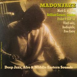 MADONJAZZ at Brilliant Corners Sep '16 - Pt2