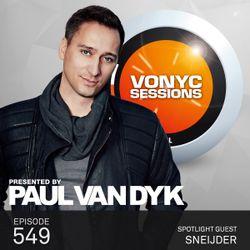 Paul van Dyk's VONYC Sessions 549 - Sneijder