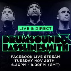 Drumsound & Bassline Smith - Live & Direct #14 [29-11-16]